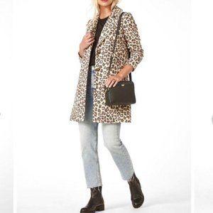 Animal Print Single Breasted COAT Jacket